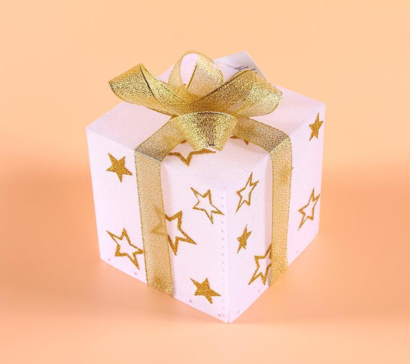 供应七彩LED圣诞礼品盒