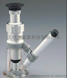日本必佳2034-100X放大镜,显微镜