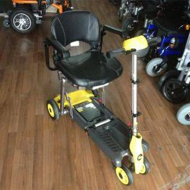 美利驰S542进口老年人残疾人代步车迷你折叠便携式四轮电动代步车轮椅