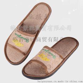 热销2015夏季42-43码女亚麻草鞋CX002B厂价直销酒店宾馆**批发