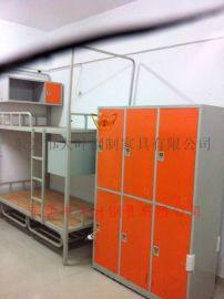 铁柜厂家 东莞员工工衣柜定做 铁制四门衣柜