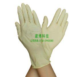 无尘手套 防静电手套 12寸乳胶防护手套 一次性手加长胶手套
