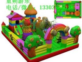 户外畅销充气城堡 大型儿童充气城堡