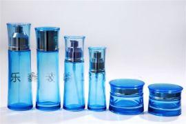 厂家供应各种规格玻璃瓶,定制**韩国化妆品套装瓶,膏霜瓶精美玻璃瓶