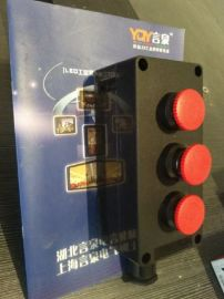BZA8050-A3三位蘑菇头急停按钮控制盒(带自锁功能)