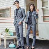 职业套装男女款2019新款西服套装OL通勤两扣办公室工装制服定做