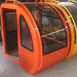 挖掘机驾驶室 定做各种起重机械驾驶棚 汽车吊车驾驶室