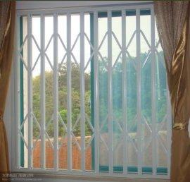 大梁不锈钢活动防盗窗