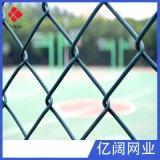 噴漿綠化專用勾花網 球場圍欄pvc包塑勾花網廠家直銷