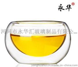 双层杯批发定制、河间50ml双层隔热玻璃茶杯