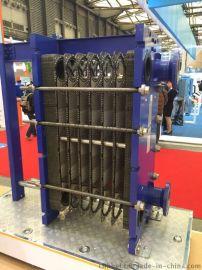 新疆江蘇浙江上海小型的機牀用的熱交換器不鏽鋼釺焊板式換熱器