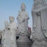 厂家直销 曲阳园林石雕雕塑 汉白玉滴水观音像 寺庙佛像雕塑