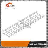 上海鍍鋅電纜橋架|上海鋼制電纜橋架|上海開放式網格橋架常鵬供
