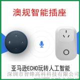 澳规接口/智能插座开关/手机远程控制插座/定时/功率计量功能/Amazon Echo/alexa语音控制/澳大利亚规格