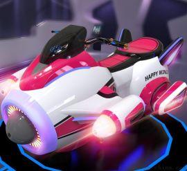 儿童游乐游戏机广场双人骑行游戏机快乐飞侠乐吧车
