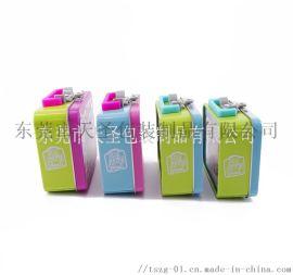 东莞厂家定制小朋友马口铁餐盒 零食盒 手提铁盒
