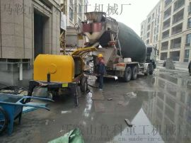 细石混凝土泵机价格不便宜这些检查工作要做好