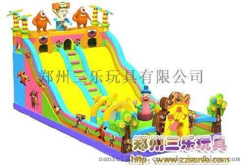 安徽蚌埠充气滑梯搭配完美