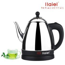 小家电优质不锈钢电热水壶提盖壶诲乐家用泡茶壶1.2L自动断电