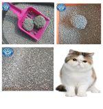 超低粉塵超強結團破碎膨潤土貓砂