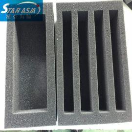大量供应EVA泡棉包装内衬 植绒防护EPE定位包装盒