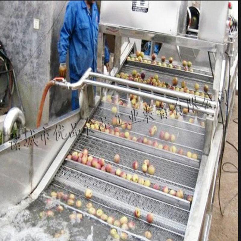 商用蔬菜清洗机 大型高压喷淋气泡清洗机