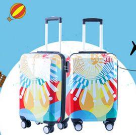 方振箱包专业定制广告箱包 万向轮拉杆箱、旅行箱 可添加logo