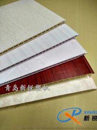 PVC竹木纤维墙板生产设备@@@新锐塑机