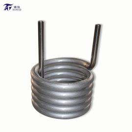 高效能不锈钢外壳钛管换热器