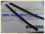 廠家供應橡膠軟磁條附3M膠對吸軟磁鐵25x1.5mm教學廣告燈箱強磁磁貼