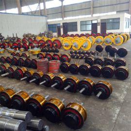 专业生产350单边车轮组 天车锻钢车轮组 行车轮