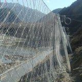 四川邊坡防護網鋼絲繩護坡網主動防護網