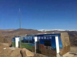 野外帐篷手动6米升降避雷针,营房方舱便携升降避雷针