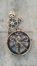 亳州钟表工艺品摆件 工艺品时钟 金属装饰摆挂件厂家