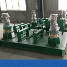 数控槽钢弯曲机天津型钢工字钢弯拱机施工视频