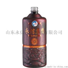 500ml高白料透明白酒瓶 牛栏山瓶子厂家销售