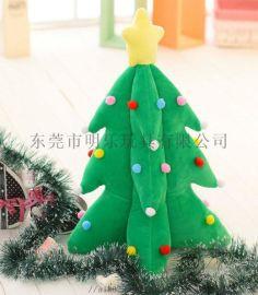 廠家定制各類中高端毛絨玩具聖誕樹禮品創意搞怪玩具
