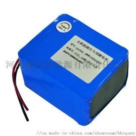 18650锂电池 太阳能监控设备锂电池包 防水