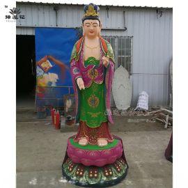 玻璃鋼神像|六十甲子65釐米高豫蓮花佛像廠家