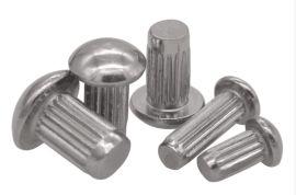 供应304不锈钢标牌铆钉  半圆头铆钉 滚花铆钉