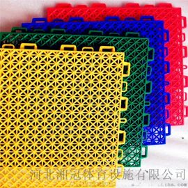 庆阳市软质悬浮地板甘肃双层方格拼装地板厂家