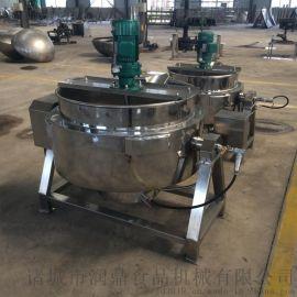 可倾式夹层锅,蒸汽夹层锅,蒸煮锅