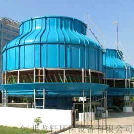耐腐蚀抗氧化圆形冷却塔 圆形玻璃钢冷却塔