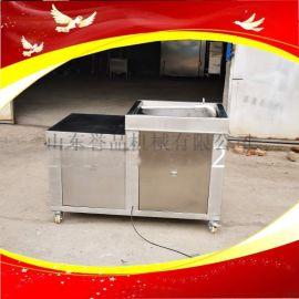 香肠不锈钢液压卧式灌肠机成套香肠制作机器
