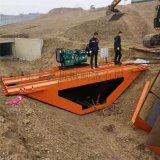 小型渠道衬砌机 水渠成型设备 现场施工水渠滑模机
