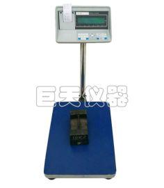 帶打印功能電子臺秤 300kg  打印電子稱價格