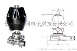 卫生级气动焊接隔膜阀