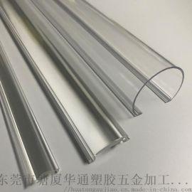 PC透明型材 pc透明条 pc透明挤出异型材
