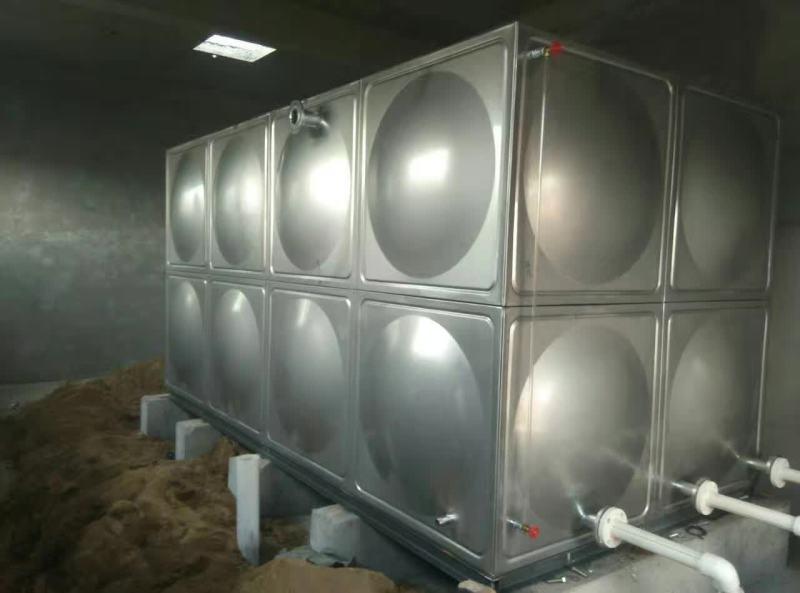 移动水箱装配式玻璃钢钢板水箱厂家供应
