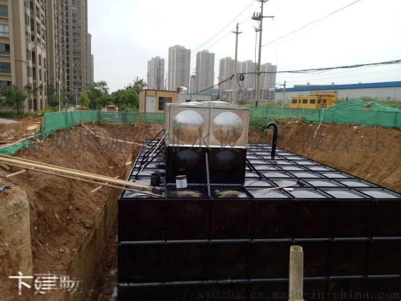 承德抗浮地埋式消防泵站一体化